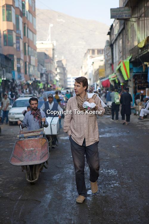 Anne Feenstra, a Dutch architect working in Afghanistan