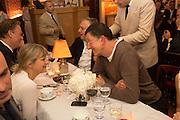 VICKEN PARSONS; ANTONY GORMLEY, Charles Finch and  Jay Jopling host dinner in celebration of Frieze Art Fair at the Birley Group's Harry's Bar. London. 10 October 2012.