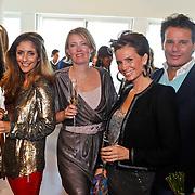 NLD/Amsterdam/20101011 - Presentatie By Danie Styleguide magazine, Leco Zadelhoff, Leontine Borsato - Ruiters, uitgeefster en Danie Bles