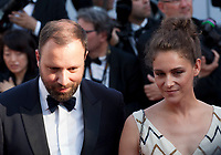 Director Yorgos Lanthimos and Ariane Labed arriving to the Closing Ceremony and awards at the 70th Cannes Film Festival Sunday 28th May 2017, Cannes, France. Photo credit: Doreen Kennedy