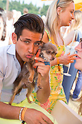 OLLIE LOCKE; COCO, Veuve Clicquot Gold Cup, Cowdray Park, Midhurst. 21 July 2013