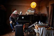 Urs Peter Schneider, Komponist, Pianist und Musiker. © Adrian Moser