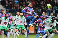 Julien FERET - 01.02.2015 - Caen / Saint Etienne - 23eme journee de Ligue 1 -<br />Photo : Vincent Michel / Icon Sport