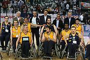DESCRIZIONE : Roma Lega A1 2006-07 Lottomatica Virtus Roma Whirlpool Varese <br /> GIOCATORE : Toti Disabili <br /> SQUADRA : Lottomatica Virtus Roma <br /> EVENTO : Campionato Lega A1 2006-2007 <br /> GARA : Lottomatica Virtus Roma Whirlpool Varese <br /> DATA : 25/04/2007 <br /> CATEGORIA : Premiazione <br /> SPORT : Pallacanestro <br /> AUTORE : Agenzia Ciamillo-Castoria/G.Ciamillo