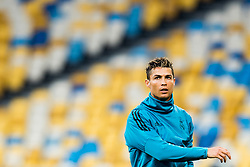 May 25, 2018 - Kyiv, UKRAINE - 180525 Cristiano Ronaldo of Real Madrid during a training session on May 25, 2018 in Kyiv..Photo: Vegard Wivestad GrÂ¿tt / BILDBYRN / kod VG / 170177 (Credit Image: © Vegard Wivestad Gr¯Tt/Bildbyran via ZUMA Press)