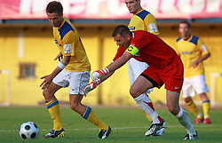 Goalkeeper of Koper Ermin Hasic at 7th Round of PrvaLiga Telekom Slovenije between FC Koper vs NK Domzale, on August, 2008, in SRC Bonifika, in Koper, Slovenia. (Photo by Vid Ponikvar / Sportal Images)