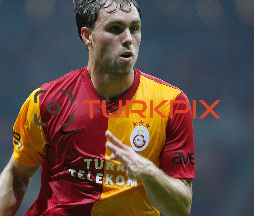 Galatasaray's Johan ELMANDER during their Friendly soccer match Galatasaray between Liverpool at the TT Arena at Arslantepe in Istanbul Turkey on Saturday 28 July 2011. Photo by TURKPIX