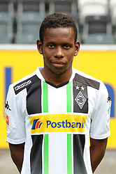 10.07.2014, Borussia Park, Moenchengladbach, GER, 1. FBL, Mannschaftsfototermin Borussia Moenchengladbach, im Bild Ibrahima Traore ( Borussia Moenchengladbach / Portrait ) // during a Photo Shoot of German 1st Bundesliga Club Borussia Moenchengladbach at the Borussia Park in Moenchengladbach, Germany on 2014/07/10. EXPA Pictures © 2014, PhotoCredit: EXPA/ Eibner-Pressefoto/ Thienel<br /> <br /> *****ATTENTION - OUT of GER*****