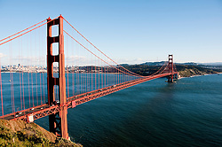 Marin Headlands; sightseeing; Golden Gate Bridge, San Francisco, California, USA.  Photo copyright Lee Foster.  Photo # california108753