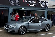 NOV 8 2012 Real Madrid Players Audi Cars