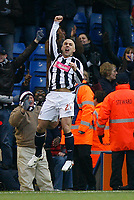 Photo: Steve Bond/Sportsbeat Images.<br />West Bromwich Albion v Charlton Athletic. Coca Cola Championship. 15/12/2007. Kevin Phillips celebrates his goal after return from injury