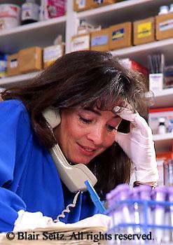 Medical Lab Technicians, Frustration