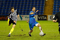 Stockport County FC 0-0 Notts County FC. Vanarama National League. Edgeley Park. 23.2.21