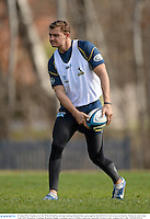 16 June 2013; Stephan Van Der Walt, Brumbies, during training ahead of their game against the British & Irish Lions on Tuesday. British & Irish Lions Tour 2013, Brumbies Training, Brumbies Rugby Training Centre, Griffith, Canberra, Australia. Picture credit: Stephen McCarthy / SPORTSFILE