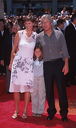 Jul 26, 1999; Los Angeles, CA, USA; Actor RICHARD GERE & CARY LOWELL with her daughter @ the 'Hand & Foot Ceremony' in front of the Mann Chinese Theatre..  (Credit Image: ONS/ZUMAPRESS.com)