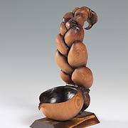 "Title: Enjoy the Soup<br /> Artist: Katrina Raetzer<br /> Date: 2013<br /> Medium: Wood<br /> Dimensions: 3 x 6 x 11""<br /> Instructor: Gary Webernick<br /> Status: Available<br /> Location: HLC4000 Storage"