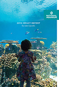 Cover image of National Aquarium Impact Report by Jeff Mauritzen