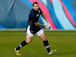 Scotland's Fraser Brown during a training session at Surrey Sports Park.