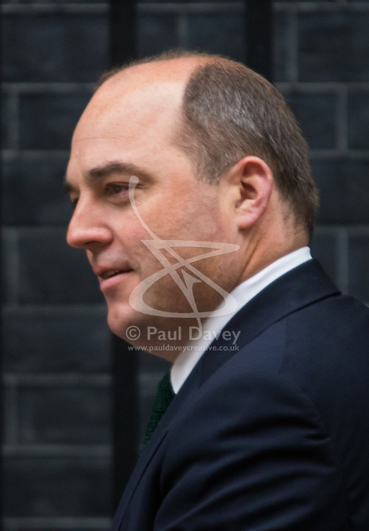 Downing Street, London, May 12th 2015. The all-conservatives Cabinet ministers gather for their first official meeting at Downing Street. PICTURED: Minister Without Portfolio Robert Halfon