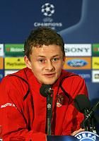 Photo: Paul Thomas.<br /> Manchester United training session. UEFA Champions League. 16/10/2006.<br /> <br /> Ole Gunnar Solskjaer.