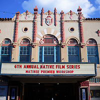 The sixth annual Native Film Series at El Morro Theatre, Friday, August 3, 2018.
