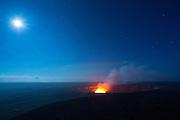 Halemaumau Crater Erupting, Hawaii Volcanoes National Park, Kilauea Volcano, Big Island of Hawaii