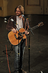 Jonathan Coulton, in a rare College and Grove Streets appearance, opening act for Century on a Spree: The Whiffenpoof Centennial (1909-2009)