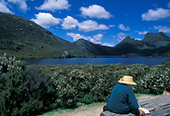 Oceania, Australia, Tasmania, Cradle Mountain-Lake St Clair National Park, Dove lake