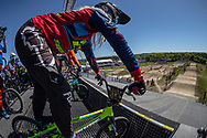 at Round 4 of the 2018 UCI BMX Superscross World Cup in Papendal, The Netherlands