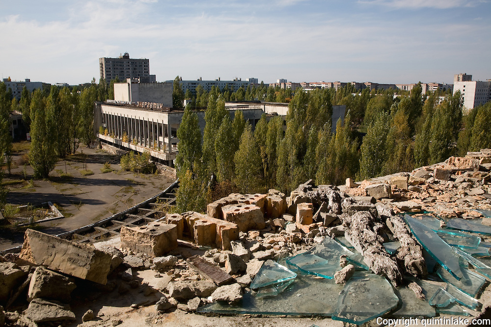 """From the series """"Pripyat: 21 Years After Chernobyl"""", 2007. 21 years after the Chernobyl Nuclear Power Plant exploded these images of Pripyat capture a memory of three traumas: the invisible radiation, the visible looting and the gradual collapse of a ghost town. 1st place International Photography Awards, Architecture Category, 2012. Signed and editioned prints available at 42x42 & 90x90cm."""