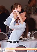 MONACO , 26 JUIN 2015 THE INTERNATIONAL JUMPING OF MONACO CASIRAGHI CHARLOTTE AND SON AND RAPHAEL HRH PRINCESS CAROLINE<br /> ©Exclusivepix Media