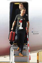 15.07.2014, Flughafen, Muenchen, GER, FIFA WM, Empfang der Weltmeister in Deutschland, Finale, im Bild Flughafen Muenchen, Ankunft FC Bayern Muenchen Spieler, Fussball, 15.07.2014, Foto: Eibner // during Celebration of Team Germany for Champion of the FIFA Worldcup Brazil 2014 at the Flughafen in Muenchen, Germany on 2014/07/15. EXPA Pictures © 2014, PhotoCredit: EXPA/ Eibner-Pressefoto/ Kolbert  *****ATTENTION - OUT of GER*****