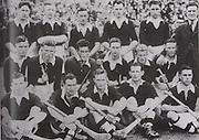 Cork-All-Ireland Hurling Champions 1942. Back Row: J Buckley, J O'Donovan, C Tobin, J Lynch (capt), C Murphy, J Barry (Trainer),. Middle Row: E Porter, M Kenefick, W Murphy, S Condon, J Young, D J Buckley. Front Row: J Quirke, D Beckett, C Ring, B Thornhill, C Cottrell, Missing Alan Lotty.