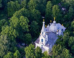 June 27, 2017 - Vologda Oblast, Russia - Russia. Vologda city. The Church of St. Lazarus the Four. Gorbachev Cemetery (Credit Image: © Russian Look via ZUMA Wire)