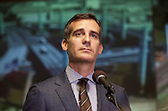 Mayor Eric Garcetti.<br /> Images from Los Angeles
