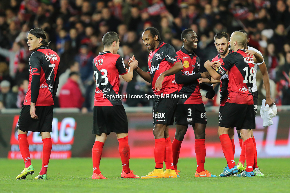 Joie Guingamp - 14.12.2014 - Guingamp / Paris Saint Germain - 18eme journee de Ligue 1<br />