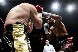 April 7, 2018 - Paris, France, France - Tony Yoka (Fra) vs Cyril Leonet (Fra) - poids lourd. (Credit Image: © Panoramic via ZUMA Press)