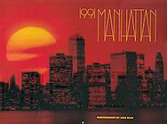 Rizzoli 1991 Manhattan Calendar