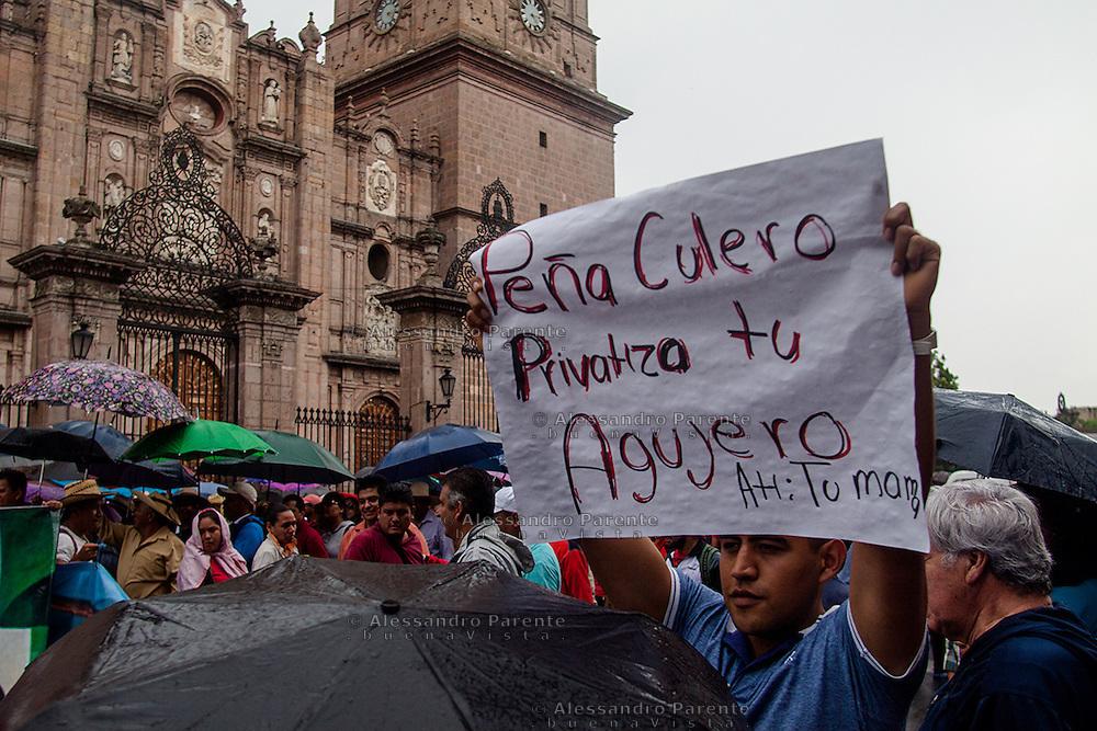 Marcha dei maestri il 22.6.2016