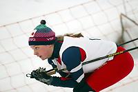 Langrenn, 27. feburar 2003, Junior NM, Berthe Anette Svenkerud, Vang