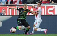 v.l. Oscar Wendt, Pawel Olkowski (Koeln)<br /> Fussball Bundesliga, 1. FC Köln - Borussia Moenchengladbach<br /> <br /> Norway only