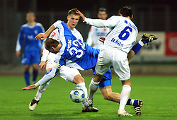 Milan Osterc of Hit Gorica at 27th Round of Slovenian First League football match between ND Hit Gorica and NK Primorje Ajdovscina in Sports park Nova Gorica, on April 8, 2009, in Nova Gorica, Slovenia. (Photo by Vid Ponikvar / Sportida)