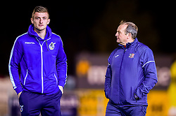 Adam Smith of Bristol Rovers arrives at St James Park prior to kick off - Mandatory by-line: Ryan Hiscott/JMP - 13/11/2018 - FOOTBALL - St James Park - Exeter, England - Exeter City v Bristol Rovers - Checkatrade Trophy