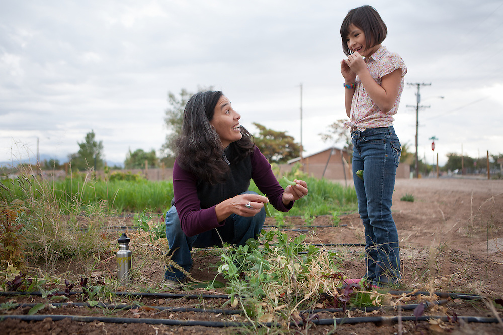 Valle Encantado is a WKKF grantee that is working to build a local food system in Albuquerque and to provide employment for area residents.