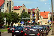 Ełk, 2008-07-12. Centrum Ełku