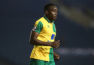Norwich City's Jamar Loza during the Barclays U21 Premier League Cup match between Brighton U21 and U21 Norwich City at the American Express Community Stadium, Brighton and Hove, England on 12 November 2015.