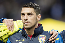 March 23, 2019 - Stockholm, SWEDEN - 190323 Nicolae Stanciu of Romania ahed of the UEFA Euro Qualifier football match between Sweden and Romania on March 23, 2019 in Stockholm. (Credit Image: © Mathilda Ahlberg/Bildbyran via ZUMA Press)