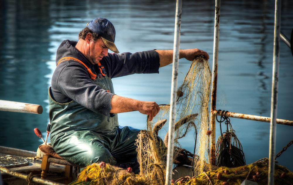 Fishermen in Volos harbour - 17
