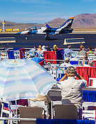 A Czech-built L-39C trainer taxis by the stands at the 2012 Reno Air Races.