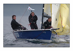 Racing at the Bell Lawrie Yachting Series in Tarbert Loch Fyne. Saturday racing started overcast but lifted throughout the day...SB3  IRL3033 Team Volvo. .